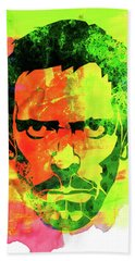 Dr. Gregory House Watercolor Bath Towel