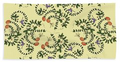 Dragonfly Peaches Hand Towel