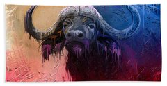 Dripping Buffalo Hand Towel