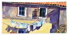 Drying In The Sun Bath Towel