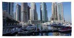 Dubai Marina Hand Towel