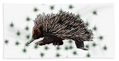 E Is For Echidna Hand Towel