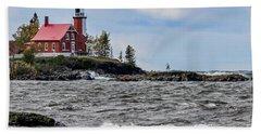 Eagle Harbor Lighthouse Hand Towel