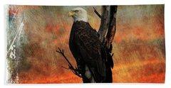 Eagle Bath Towel