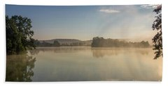Early Morning At The Pond  Bath Towel