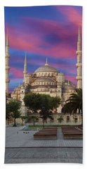 Early Morning Light On  Sultan Ahmet Camii Bath Towel