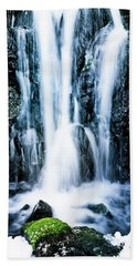 Early Spring Waterfall Hand Towel