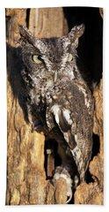 Eastern Screech Owl 92515 Bath Towel