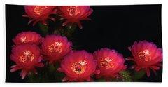 Echinopsis Hot Pink Bath Towel