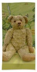 Edward Bear - The Original  Winnie The Pooh Bath Towel