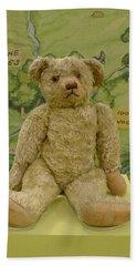 Edward Bear - The Original  Winnie The Pooh Hand Towel