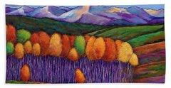 Autumn Colors Bath Towels