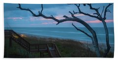 Emerald Isle Obx - Blue Hour - North Carolina Summer Beach Bath Towel