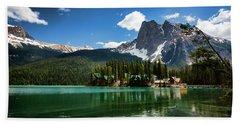 Emerald Lake Lodge Summer Bath Towel
