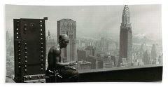 Empire State Building 1930 Hand Towel