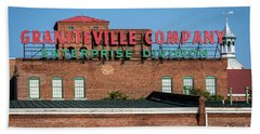 Enterprise Mill - Graniteville Company - Augusta Ga 1 Bath Towel