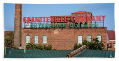 Enterprise Mill - Graniteville Company - Augusta Ga 2 Bath Towel