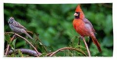 Envy - Northern Cardinal Regal Bath Towel
