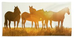 Equine Glow Bath Towel