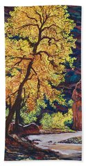 Escalante River South Utah Bath Towel