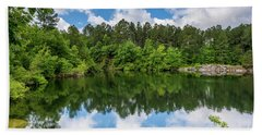 Euchee Creek Park - Grovetown Trails Near Augusta Ga 1 Bath Towel