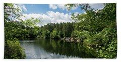 Euchee Creek Park - Grovetown Trails Near Augusta Ga 2 Hand Towel