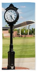 Evans Towne Center Park Clock - Columbia County Ga Bath Towel