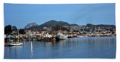 Evening In Morro Bay Hand Towel
