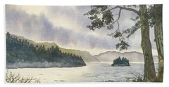 Evening On Derwentwater Bath Towel