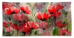 Everything About Poppies Bath Towel