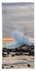 Explosive Sea 2 Bath Towel