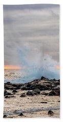 Explosive Sea 4 Bath Towel