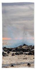 Explosive Sea 5 Bath Towel