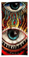 Eyes On You Bath Towel