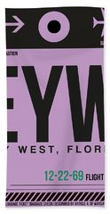 Eyw Key West Luggage Tag I Bath Towel