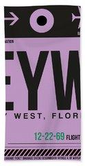 Eyw Key West Luggage Tag I Hand Towel