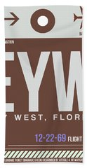 Eyw Key West Luggage Tag II Bath Towel