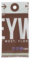 Eyw Key West Luggage Tag II Hand Towel