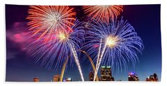 Fair St. Louis Fireworks 6 Bath Towel