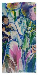 Fairest Among The Lilies Hand Towel