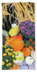 Fall Bounty Bath Towel