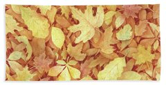 Fallen Leaves Hand Towel