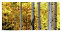 Hand Towel featuring the photograph Fall's Visitation by Rick Furmanek