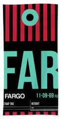 Far Fargo Luggage Tag I Hand Towel