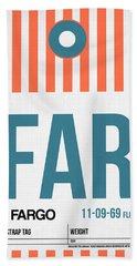 Far Fargo Luggage Tag II Hand Towel