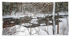 Farmington River - Northern Section Hand Towel