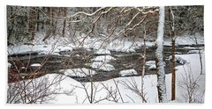 Farmington River - Northern Section Bath Towel