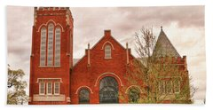 Farmville United Methodist Church Farmville Virginia Hand Towel