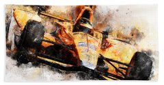Fernando Alonso, Indy 500 - 04 Bath Towel