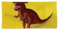 Fies-t-rex Bath Towel